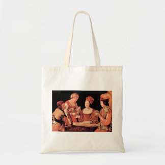 The wrong player, with cross-aces by La Tour Canvas Bags