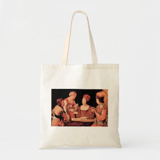 The wrong player, with cross-aces by La Tour Canvas Bag