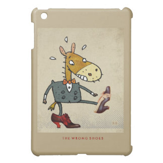 The Wrong Shoes iPad Mini Cover