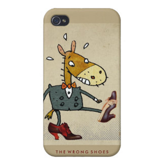 The Wrong Shoes iPhone 4G iPhone 4/4S Cases