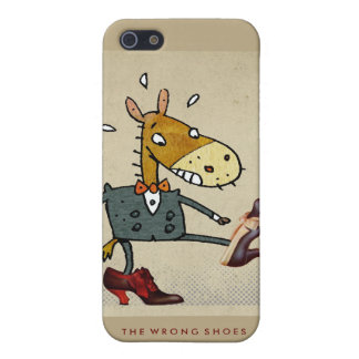 The Wrong Shoes iPhone 4G iPhone 5 Cases