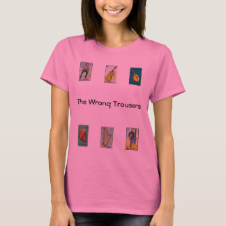 The Wrong Trousers: One and Counting Long Sleeve T-Shirt