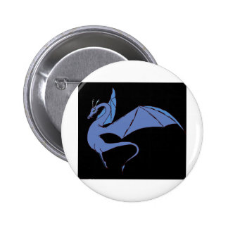 The Wyrm (blue) Button