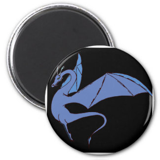 The Wyrm (blue) Magnet