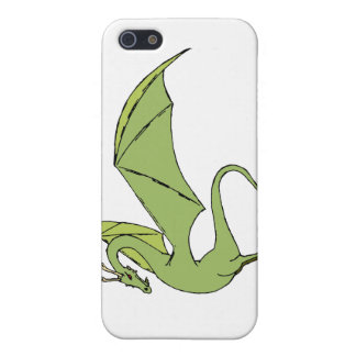 The Wyrm (green) iPhone SE/5/5s Cover