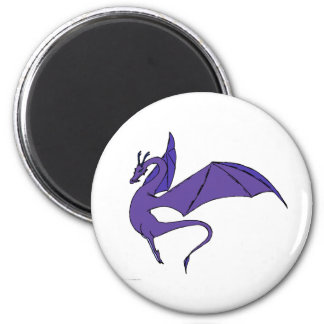 The Wyrm (indigo) Magnet