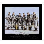 The X-15 Test Pilots – NASA Print