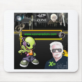 The 'X' Zone Radio & TV Show Mouse Pad