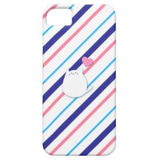 The ya it is in heart margin iPhone SE/5/5s case