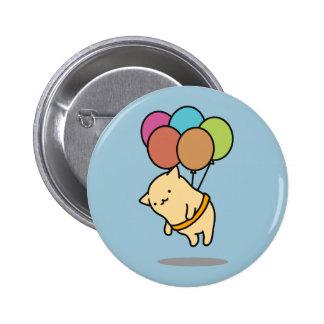 The ya it is the ku mark balloon pinback button