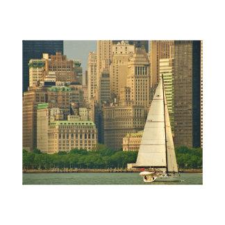 The Yacht! Canvas Print