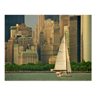 The Yacht! Postcard