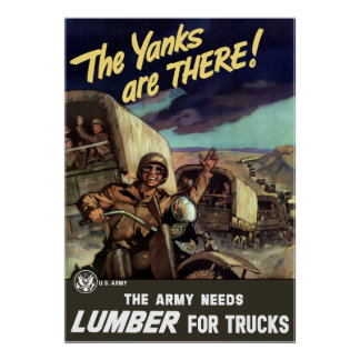 The Yanks Are There! Poster