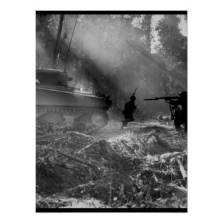 The Yanks mop up on Bougainville_War Image Poster