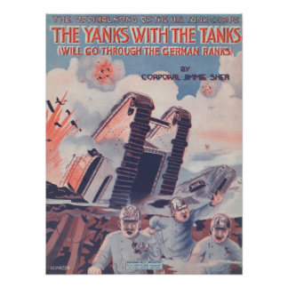 The Yanks With The Tanks Poster