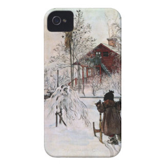 The Yard and Wash-House, Carl Larsson Case-Mate iPhone 4 Case
