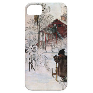 The Yard and Wash-House, Carl Larsson iPhone SE/5/5s Case