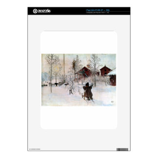 The Yard and Wash-House, Carl Larsson Skin For The iPad