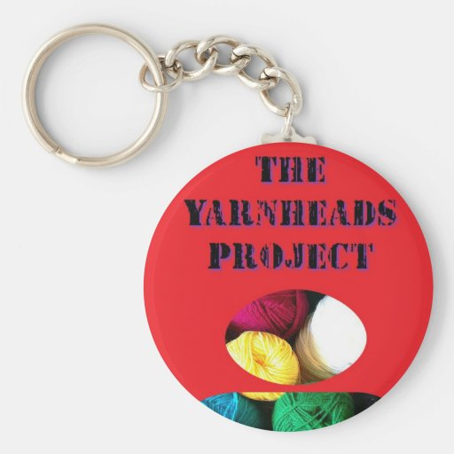 The Yarnheads Project KeyChain