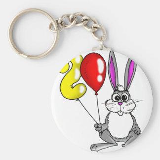 The Year 2011 Rabbit Basic Round Button Keychain