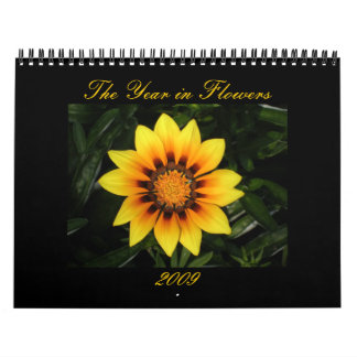The Year in Flowers Calendar