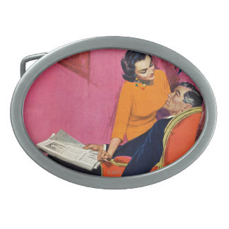 The Year of Discontent Oval Belt Buckle