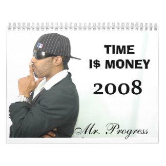 THE YEAR OF PROGRESS CALENDAR