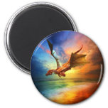 The Year of the Dragon 2 Inch Round Magnet