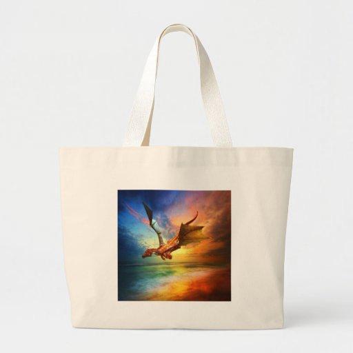 The Year of the Dragon Jumbo Tote Bag