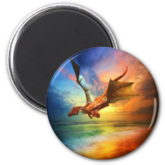 The Year of the Dragon Refrigerator Magnet