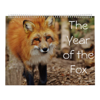 The Year of The Fox Calendar