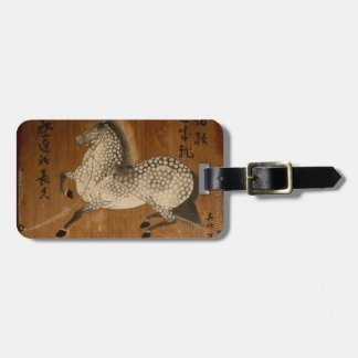 """The """"Year of the Horse"""" a design from Kyoto! Tags For Bags"""