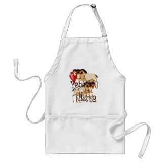 The Year of the Horse Adult Apron