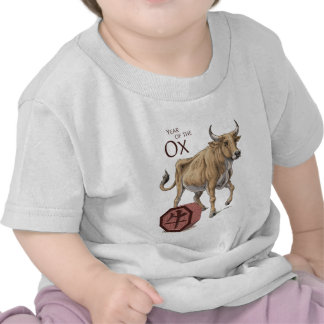 The Year of the Ox Baby Shirt
