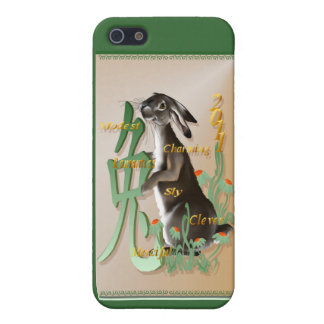 The Year Of The Rabbit 441__P Case For iPhone SE/5/5s