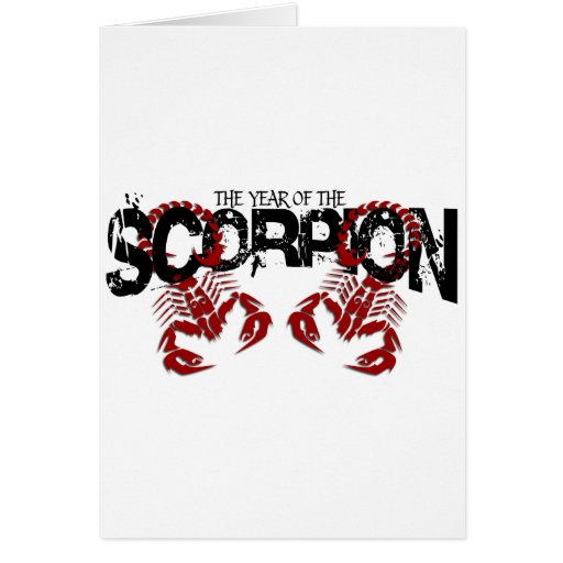 The Year of the Scorpion #2 Card