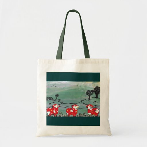 The Year of the Sheep tote bag