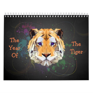 The Year Of The Tiger Calendar
