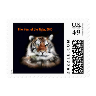 The year of the Tiger Stamp 2010