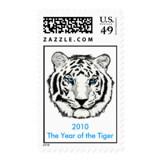 The Year of  Tiger Postage