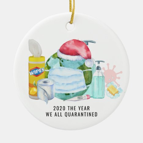 The Year We All Quarantined | 2020 Commemorative Ceramic Ornament