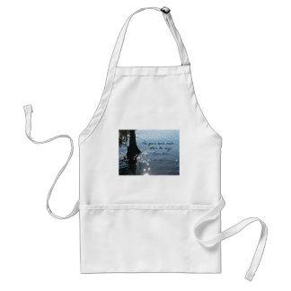 The years teach much which the days never know aprons