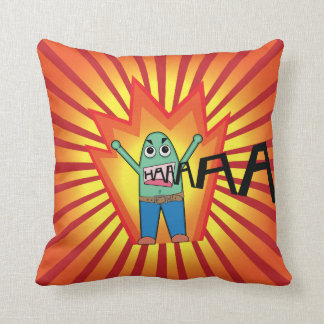The Yeller Family - The Father - Throw Pillow