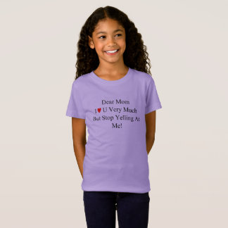 The Yelling Mom Card T-Shirt