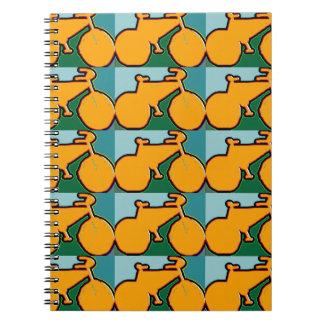 the yellow bike journals