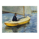 The Yellow Boat, 1891 - Gustave Caillebotte Post Cards