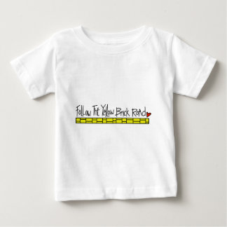 The Yellow Brick Road Baby T-Shirt