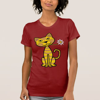 The Yellow Cat T Shirt