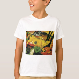 The Yellow Cow by Franz Marc T-Shirt
