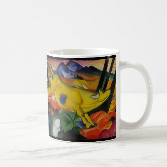 The Yellow Cow- Franz Marc Coffee Mug